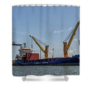 Bbc Chartering Shower Curtain