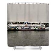 B.c. Ferries Coastal Renaissance Shower Curtain