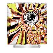 Be Bright Be Bold Shower Curtain
