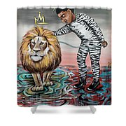 Be Courageous My Son Shower Curtain