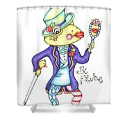 Be Fabulous Shower Curtain
