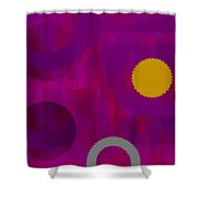 Be Happy II Shower Curtain