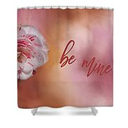 Will You Be Mine Shower Curtain