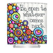 Be Open Shower Curtain