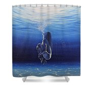 Be Still And Breathe Shower Curtain
