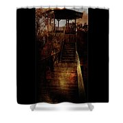 Be There By Sundown Shower Curtain