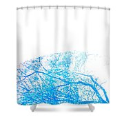 Be There Wherever Shower Curtain