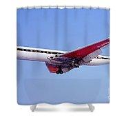 Bea De Havilland Dh 106 Comet 4b Berlin Shower Curtain