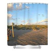 Beach Access 30 Shower Curtain