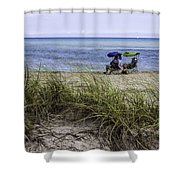 Beach Afternoon Shower Curtain