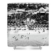 Beach At Grand Turk Shower Curtain