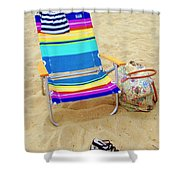Beach Attire Shower Curtain