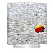 Beach Ball Shower Curtain