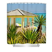 Beach Bar Shower Curtain