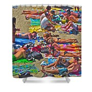 Beach Blanket Bingo Shower Curtain