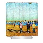 Beach Boys Shower Curtain