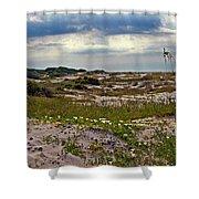 Beach Carpet Shower Curtain