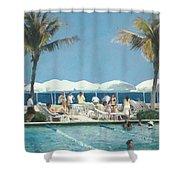 Beach Club Shower Curtain