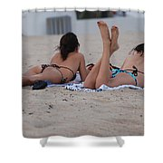 Beach Combers Shower Curtain