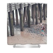 Beach Combing Shower Curtain