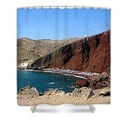 Beach Conclave  Shower Curtain