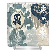 Beach Curry IIi Shower Curtain