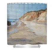 Beach Day Aquinnah Shower Curtain