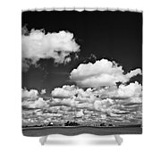 Beach Far And Wide Shower Curtain