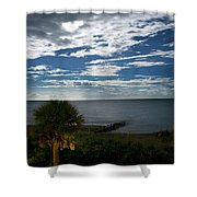 Beach Front Property Shower Curtain