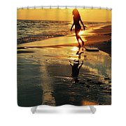 Beach Fun 2 Shower Curtain