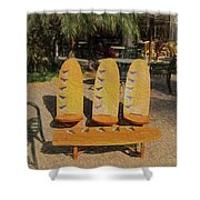 Beach Furniture Shower Curtain