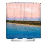 Beach Happyness Shower Curtain