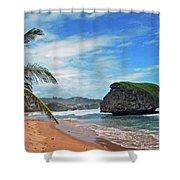 Beach Hideaway Shower Curtain
