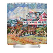 Beach Houses At Pawleys Island Shower Curtain