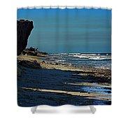 Beach Hutchinson Island, Fl Shower Curtain