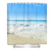 Beach Love Summer Sanctuary Shower Curtain