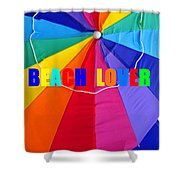 Beach Lover Shower Curtain