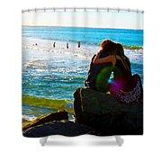 Beach Magic Shower Curtain