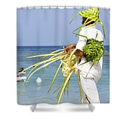 Beach Man Shower Curtain