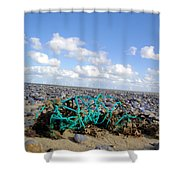 Beach Net Shower Curtain