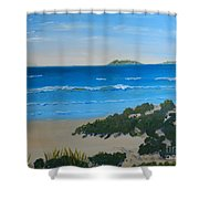 Beach On The North Coast Of Nsw  Shower Curtain