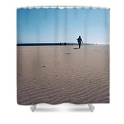 Beach Or Desert Shower Curtain
