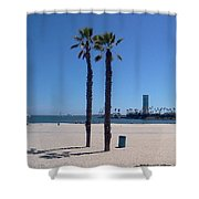 Beach Palms Shower Curtain