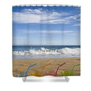 Beach Party Shower Curtain