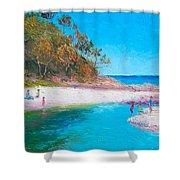 Beach Picnic Shower Curtain