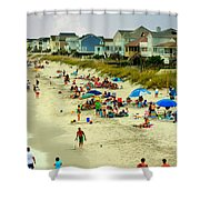 Beach Play Shower Curtain