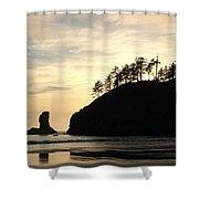 Beach Reflections Shower Curtain