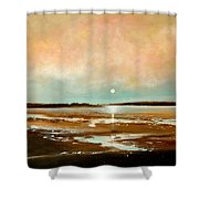 Beach Reflections Shower Curtain