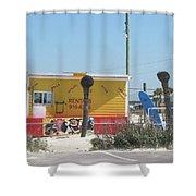 Beach Rentals Shower Curtain