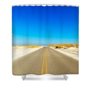 Beach Road Shower Curtain